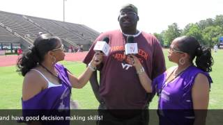 TwinSportsTV: Interview with Dwight Vick event coordinator of the Mike Vick Weekend
