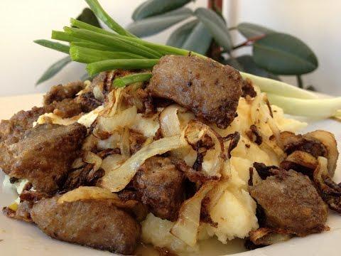 Как Вкусно Пожарить Печенку (Печень) за 3 минуты  (Очень Вкусная Печенка) | Very Tasty Liver