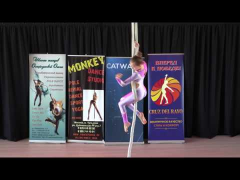 Николаева Софья 13 лет - Catwalk Dance Fest VIIl [pole dance, aerial] 14.05.17.