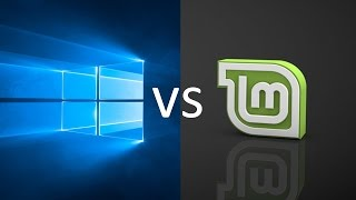 comparing windows 10 to linux mint 181