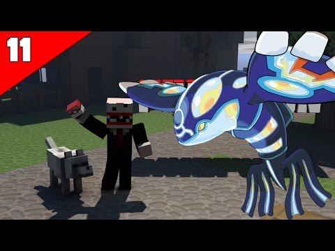 Minecraft Pixelmon #11 โปเกม่อนในตำนานจุติ!!