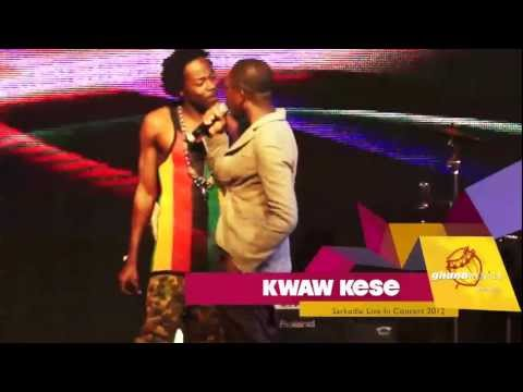 Kwaw Kese - Disses Kod  Sarkodie Live In Concert 2012 | Ghanamusic Video video