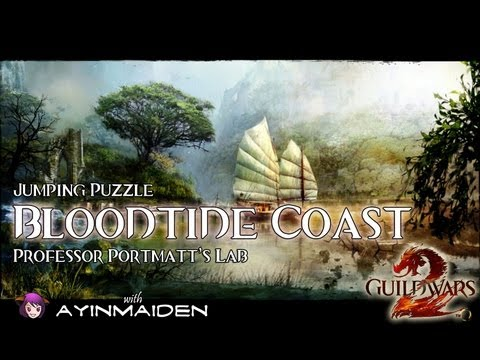 ★ Guild Wars 2 ★ - Jumping Puzzle - Bloodtide Coast (Professor Portmatt's Lab)
