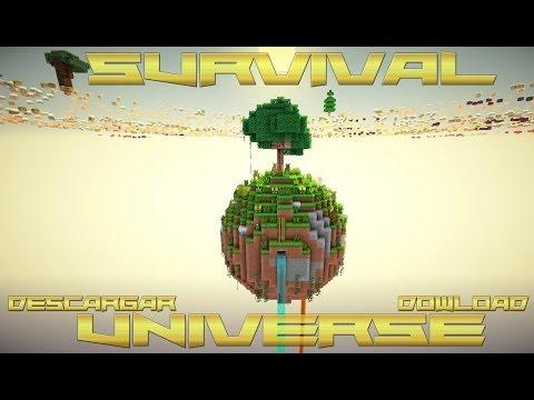 Mapa de supervivencia para minecraft 1.9.2 Survival Universe