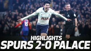 HEUNG-MIN SON SCORES FIRST PREMIER LEAGUE GOAL AT NEW STADIUM | HIGHLIGHTS | Spurs 2-0 Palace