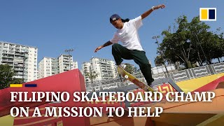 Riding high: Filipino Margielyn Didal takes street skateboarding world by storm