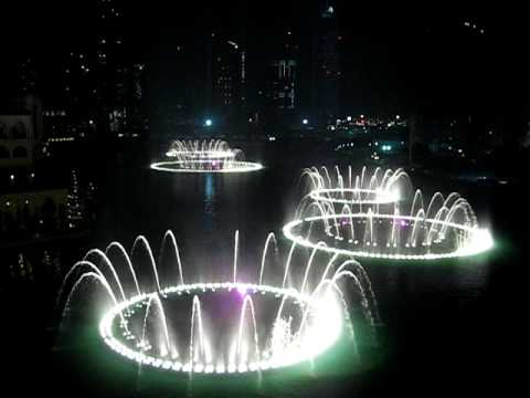 Burj Dubai Fountain - Time to Say Goodbye