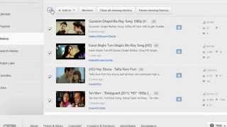 How To Find And Delete YouTube Viewing History