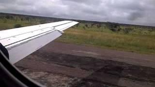 Kolwezi Airport Landing