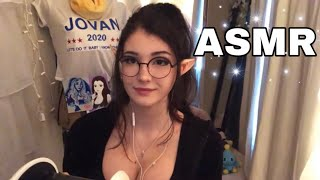ASMR ♡ Ear Cupping and Massage (Tapping too)