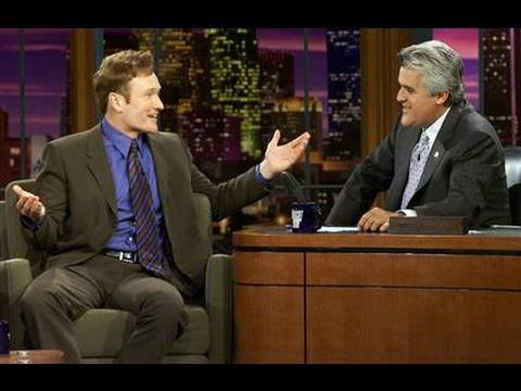 Jay Leno Attacking Conan O Brien