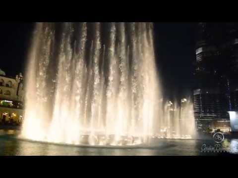 Dubai Fountain 2014 Hd - Dancing Fountain Water Show On Arabic Hit Song video