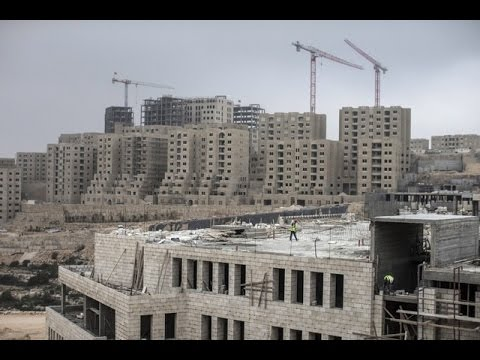 A Simple Question: Israeli surge in illegal settlements