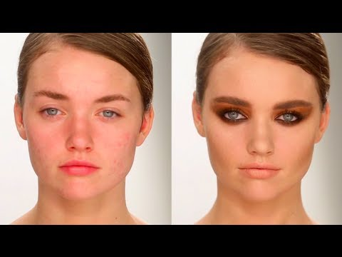 A/W13 Backstage Look For Tom Ford | Charlotte Tilbury | Make-up Tutorial