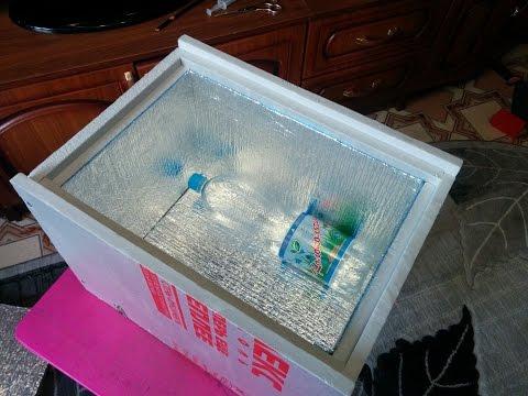 Сделать походный холодильник своими руками