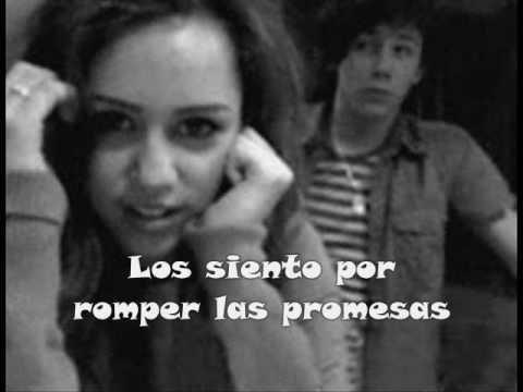 Este es un videos con fotos de Niley (Nick Jonas y Miley Cyrus) y con la cancion de Sorry de Los Jonas Brothers subtitulada en Español.