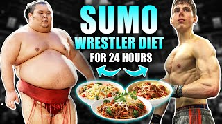 I ate like a *SUMO WRESTLER* for 24 hours (10,000 calories?)