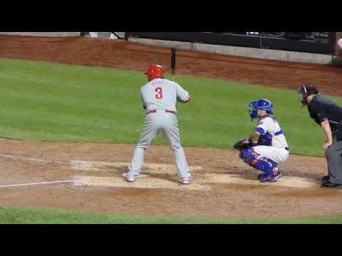 Phillies Marlon Byrd Strikes Out HD