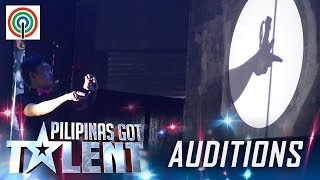 Pilipinas Got Talent Season 5 Auditions Shadow Ace Shadow Play Performer