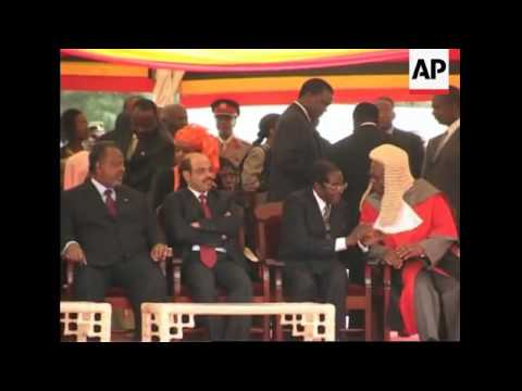 President Yoweri Museveni sworn in for a third term