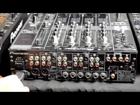 Что куда тыкать Pioneer DJM 800 и CDJ 2000 (№028)