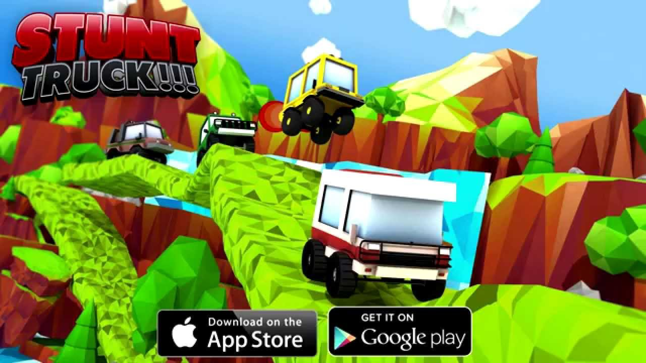 Android-Stunt Monster Truck Racing
