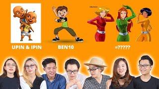 Đoán nhân vật hoạt hình của tuổi thơ | GAME HACK NÃO