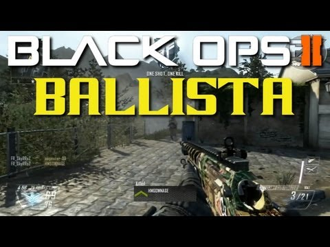 Black ops 2 Ballista sans lunette gameplay multijoueur | SkyRRoZ | Call of duty