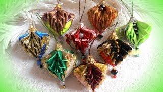 diy christmas ornaments, tutorial, Christmas balls on the Christmas tree