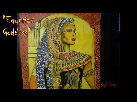 Egyptian Goddess Cleopatra Queen Beautiful Sexy Female 2014