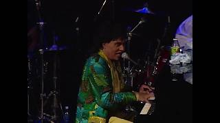 "Little Richard performs ""Lucille"" at the Rock & Roll Hall of Fame"