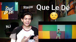 Rauw Alejandro X Nicky Jam - Que Le Dé (Reaccion)