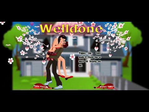 Hot Sexy Neighbor Girl Kissing - Neighborhood Kissing Game video