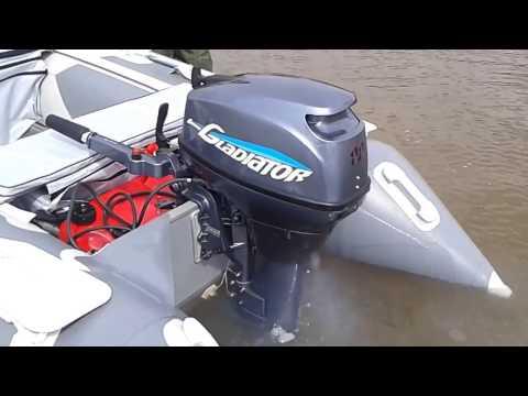 двигатель гладиатор для лодок