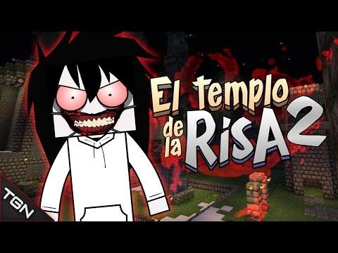 MINECRAFT: EL TEMPLO DE LA RISA 2 (JEFF VS JOKER)