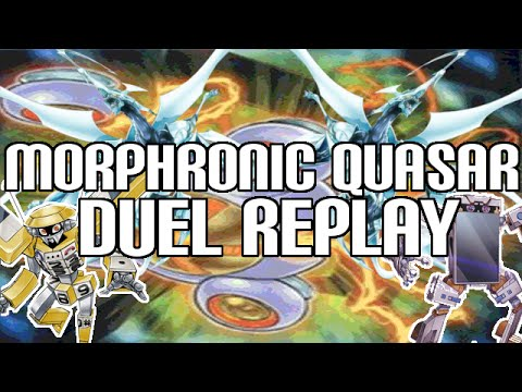 Yugioh Morphtronic Double Quasar Replay & Deck List video