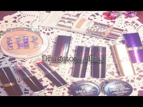  My Drugstore Haul: On the hunt for best bb cream && mac dupes  