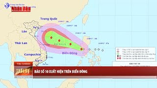 Tin Thời Sự Hôm nay (6h30 - 13/9/2017): Bão Số 10 Xuất Hiện Trên Biển Đông