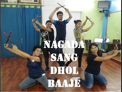 Nagada sang dhol dance video l ramleela