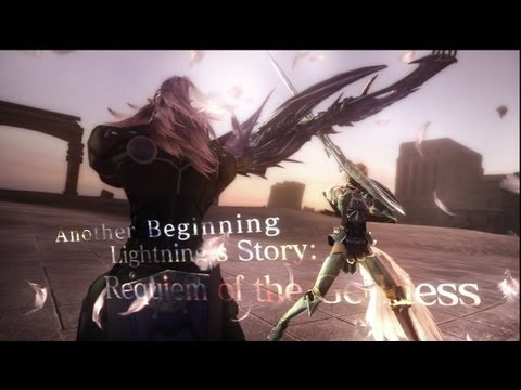  Final Fantasy XIII-2 English Walkthrough - Lightning: Requiem of the Goddess DLC + Secret Ending! (English)