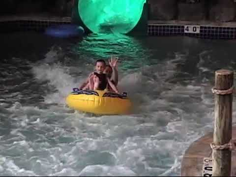 Camera in water slide