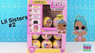 LOL Surprise Lil Sisters Series 3 Episode 2 Full Box Opening | PSToyReviews