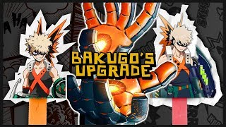 Bakugo Needs An Upgrade! Redesign Details and Information! - My Hero Academia Costume Discussion