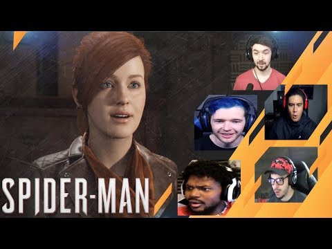 Gamers Reactions to Mary Jane (MJ) | Marvel's Spider-Man