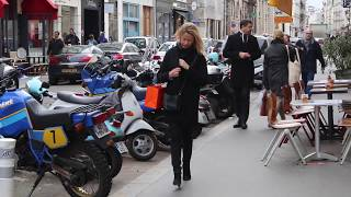 Fashion has no rules. Parisian rocking their personal style. Cold weather winter street style.