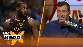 Doug Gottlieb on the chances LeBron plays for the Spurs | THE HERD