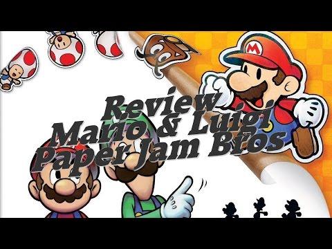 VideoTest ~ Mario & Luigi Paper Jam Bros. (3DS)