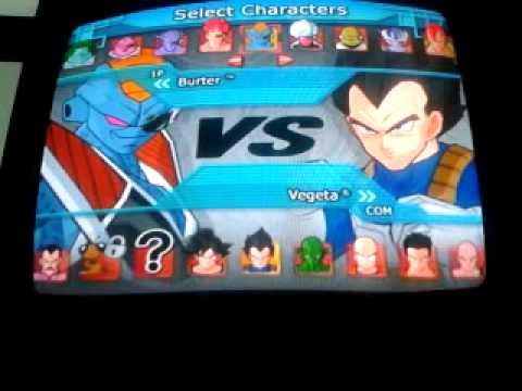 Dragon Ball Z Budokai Tenkaichi 1 Personajes