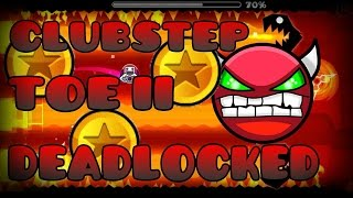 Los 3 Demons de RobTop (Clubstep,Toe 2,Deadlocked)