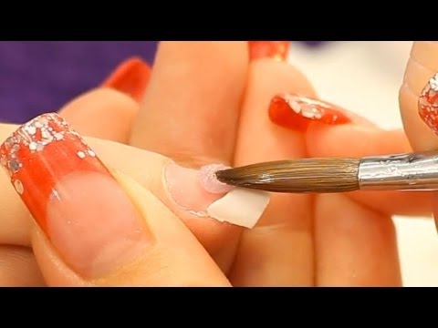 Correct Acrylic Application (Zone 2 and 3) Tutorial Video by Naio Nails